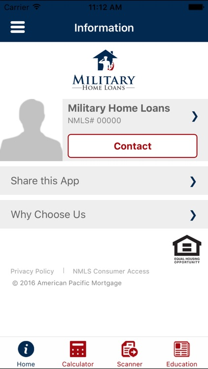Military Home Loans screenshot-0