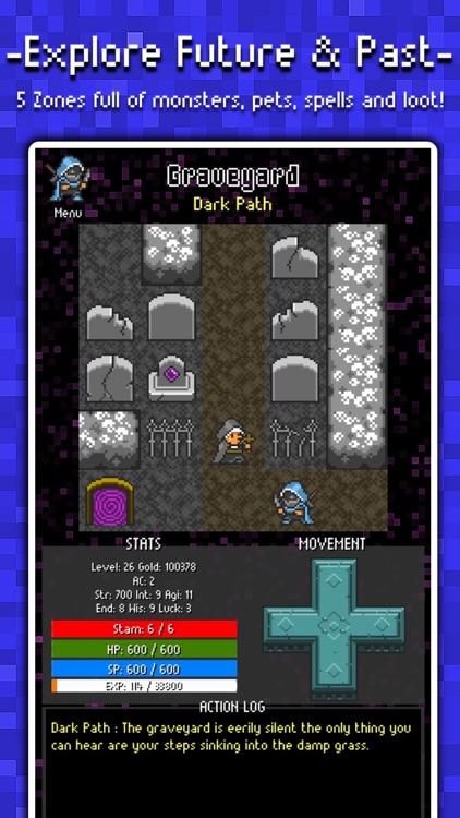 Adventure To Fate : Quest To The Future JRPG screenshot-0