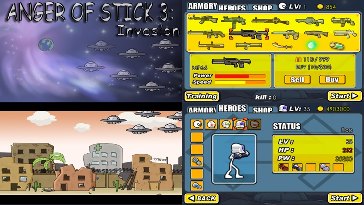 AngerOfStick3: Invasion screenshot-0