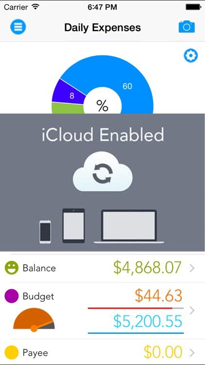 Daily Expenses -Pocket Edition screenshot-4
