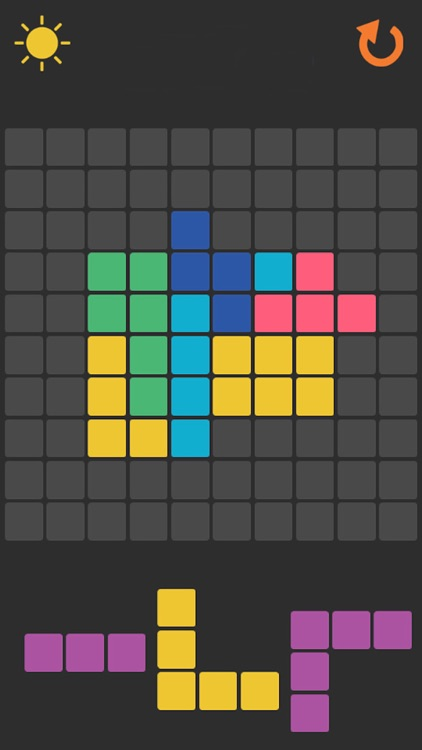 Arrange The Colored Blocks Puzzle Game screenshot-2