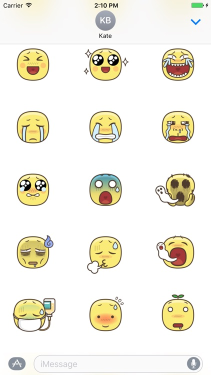 Emotion Stickers screenshot-1