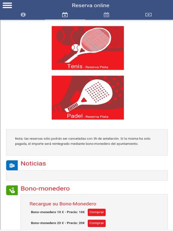 Ayto Santovenia Deportes screenshot 6