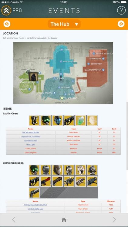 Events for Destiny Track Public Events Timers screenshot-4
