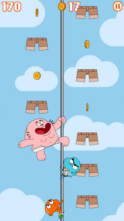 Sky Streaker - Gumball Climbing Arcade Game screenshot-0