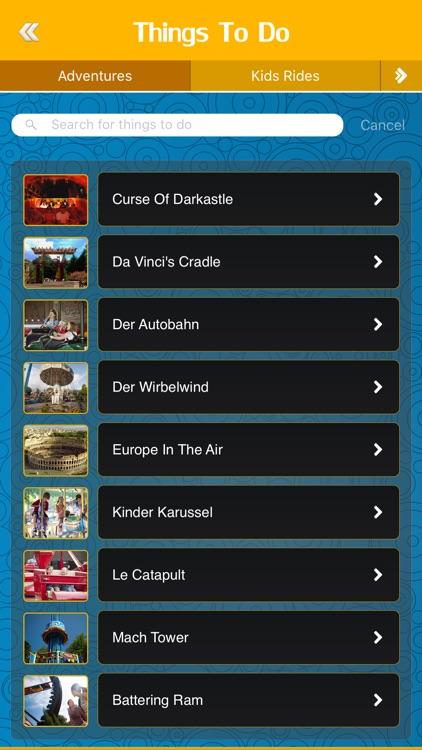 Great App for Busch Gardens Williamsburg