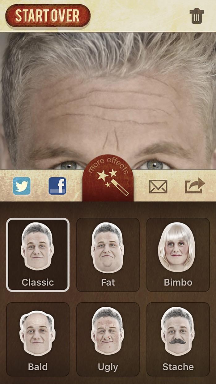 AgingBooth Screenshot