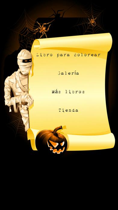 ¡Libro para colorear de Halloween!Captura de pantalla de2