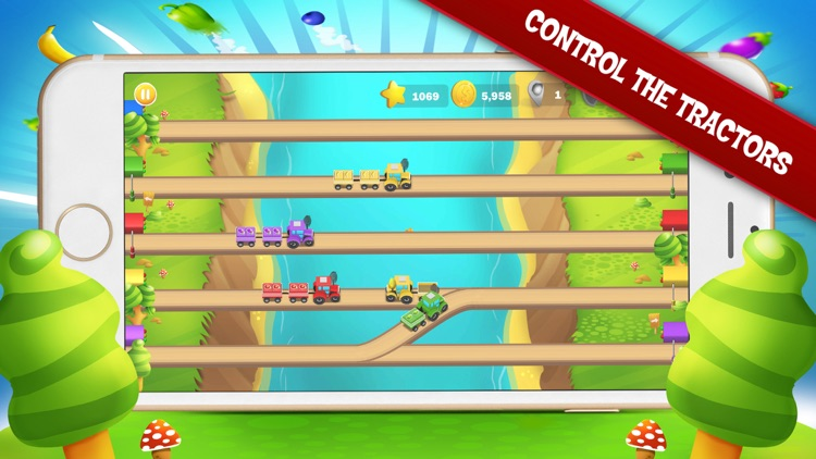 Tractor Rush Go screenshot-0