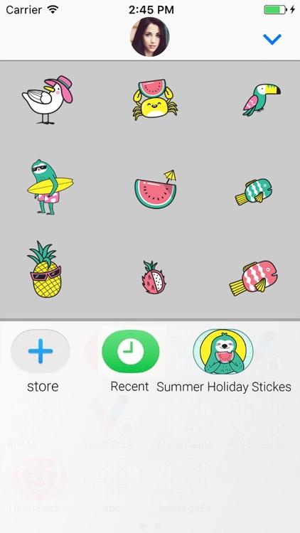 Summer: Animated Stickes screenshot-3