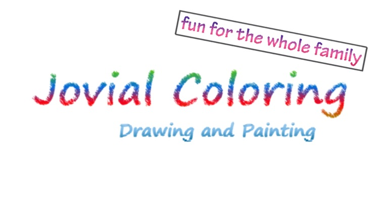 Jovial Coloring - Drawing and Painting screenshot-4