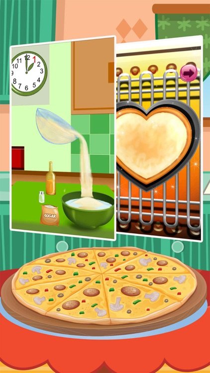 Pizza Maker Italian Cooking Master Chef Sausage