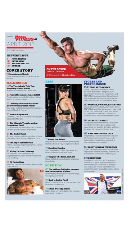 Muscle & Fitness UK Magazine screenshot-4