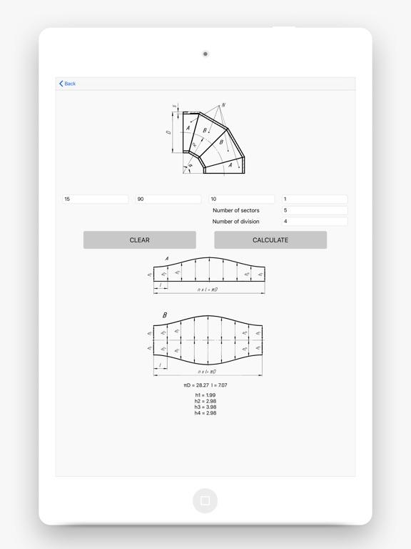 Flat Pattern Bend Calculator screenshot 6