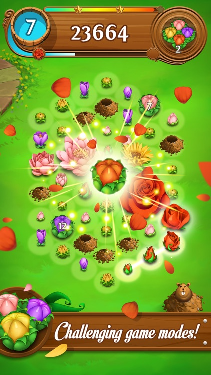 Blossom Blast Saga screenshot-0
