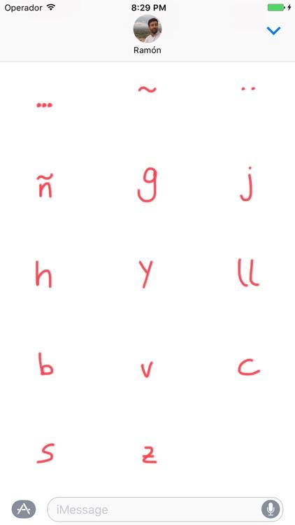 Ortografía - Spanish Grammar Sticker Pack screenshot-3