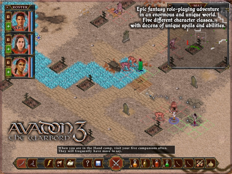 Avadon 3: The Warborn HD screenshot-3