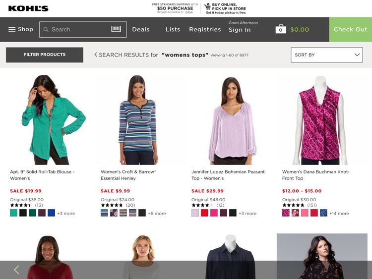 Kohl's for iPad screenshot-0
