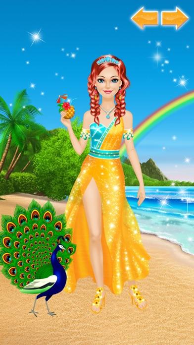 Tropical Princess - Makeup and Dressup Salon Game Screenshot 5