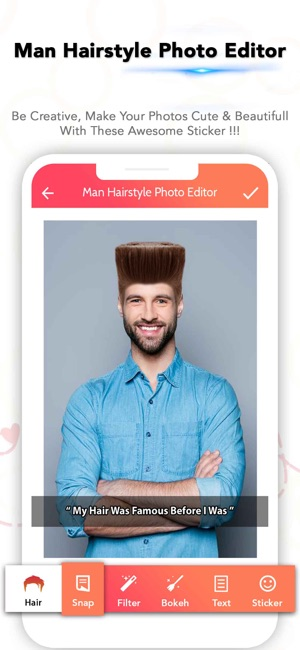 Man Hairstyle Photo Editor On The App Store