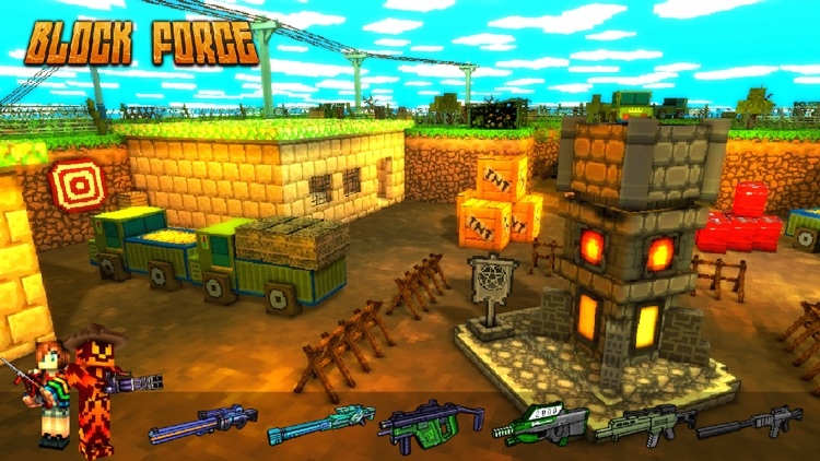 Block Force - 3D FPS Shooting Game screenshot-0