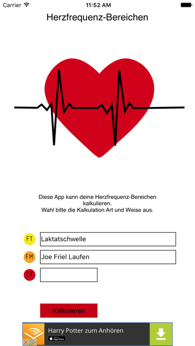 Heart Rate CalcScreenshot von 1