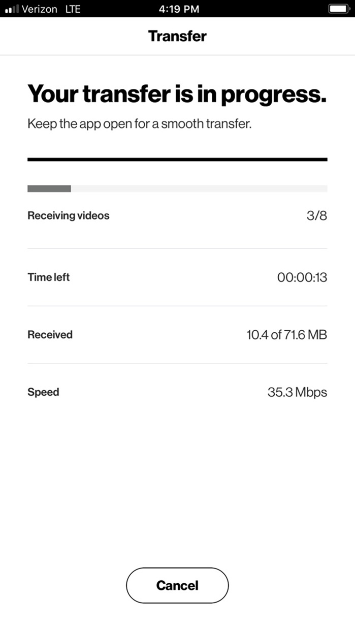 Content Transf Screenshot