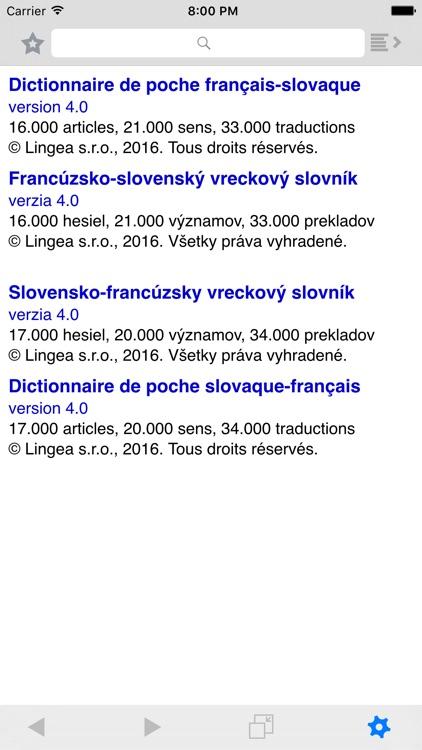 Lingea Francúzsko-slovenský vreckový slovník