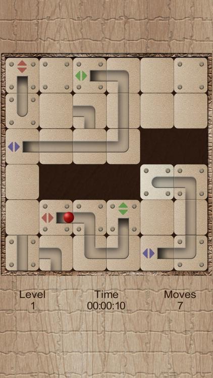 Roll the labyrinth tunnel ball screenshot-4