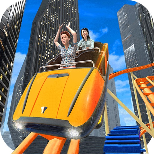 VR City Roller Coaster : Crazy Love Ride