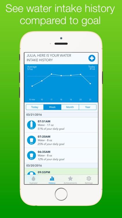 WaterMinder Free: Hydration Reminder Water Tracker