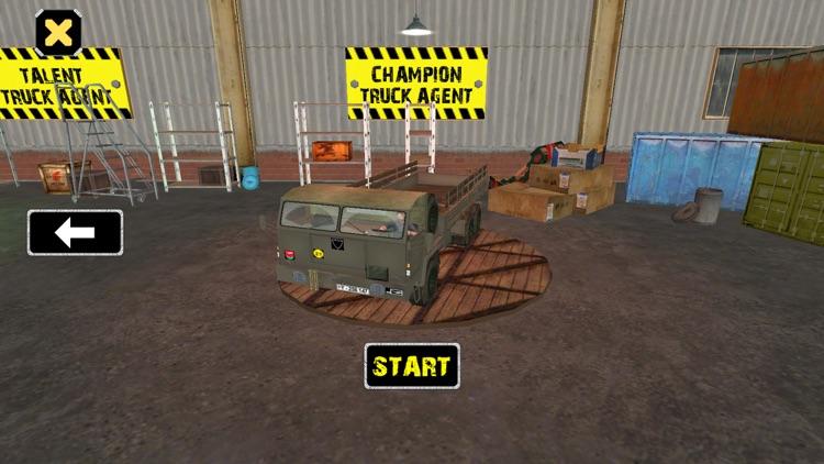 Cargo Transport Truck Agent 3D