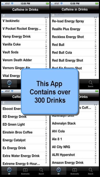 Caffeine in Drinks screenshot-3