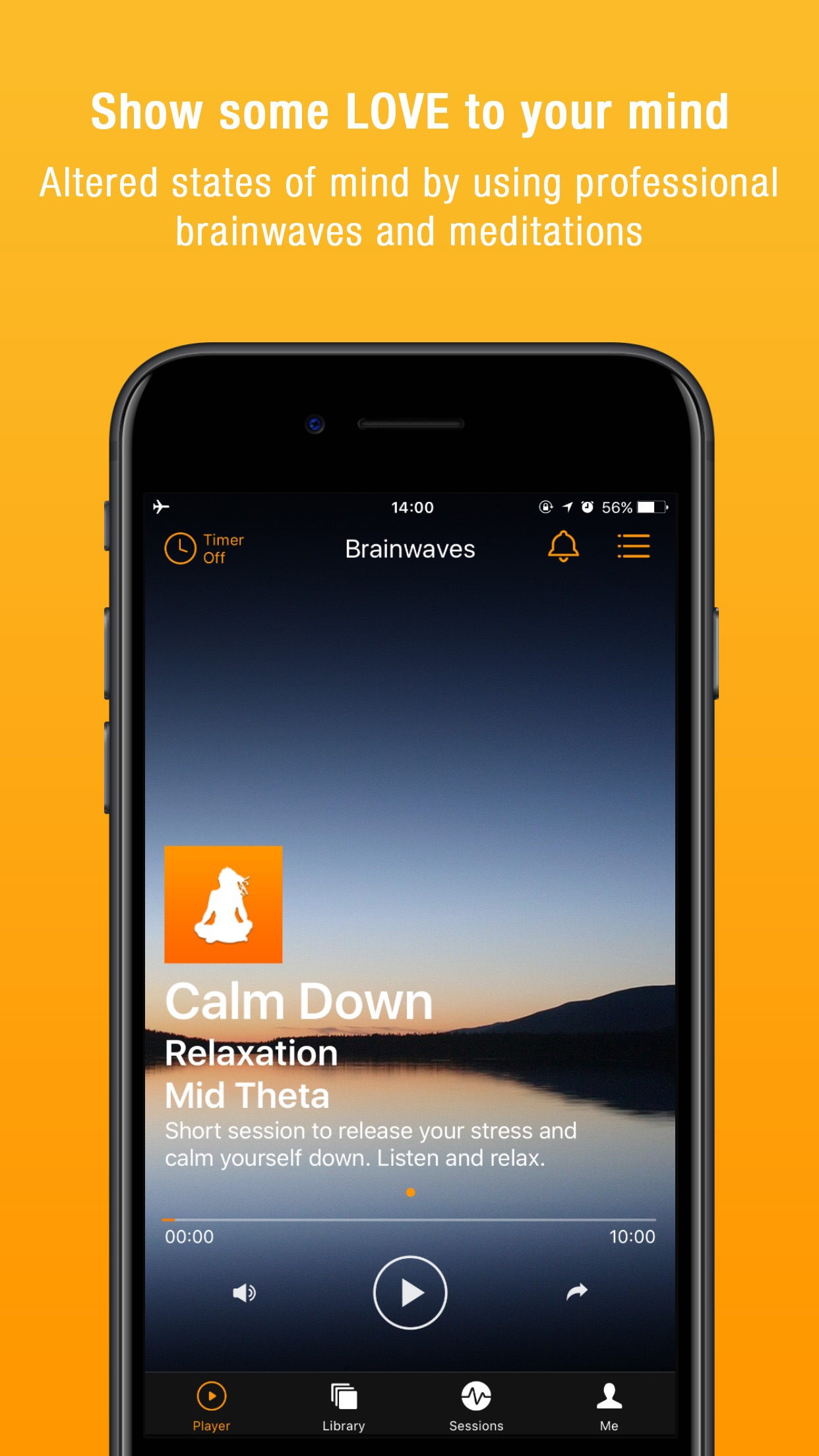 Brainwaves -- Binaural Beats Screenshot
