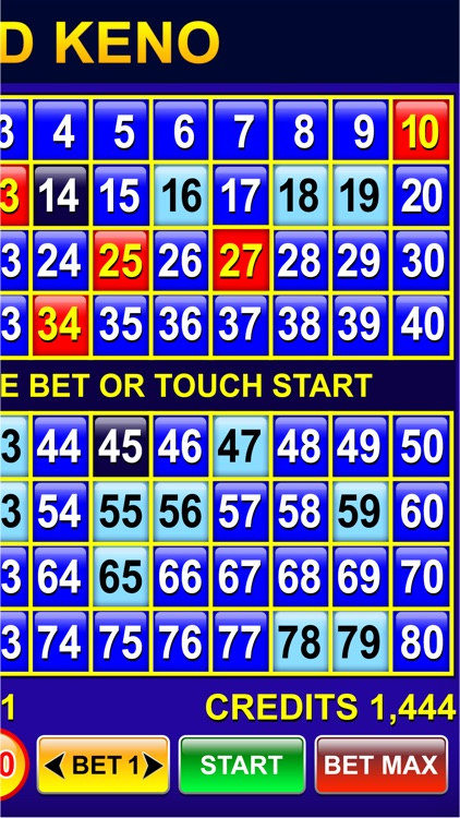 Keno - Multi Card keno games+free bonus keno games