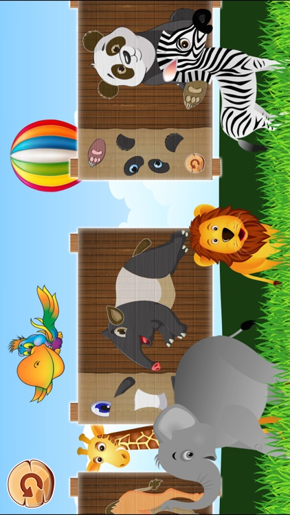 Animal Puzzles Games: little boys & girls puzzle screenshot-4