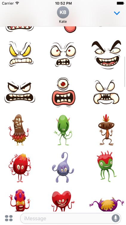 Monster Stickers screenshot-0