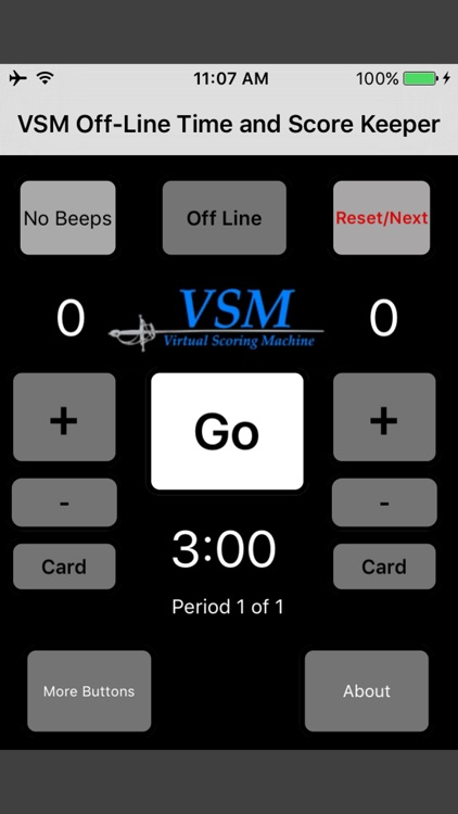 VSM Fencing Score and Timer