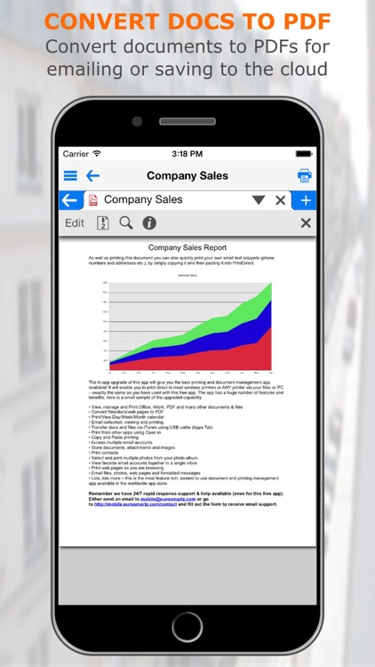 PrintCentral Pro for iPhone