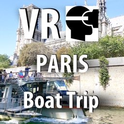 VR Paris Boat Trip - Virtual Reality 360 France