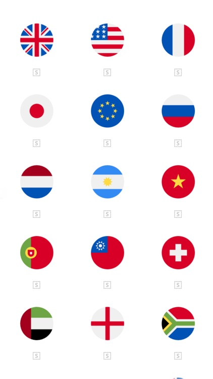 Country Flags Stickers