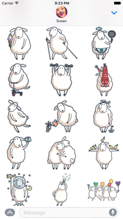 Baa the Sheep – Farm Animal Stickers for iMessage