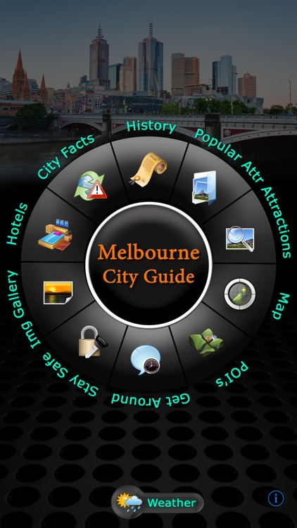 Melbourne Offline Map Travel Guide screenshot-0