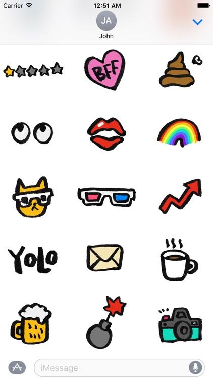 Doodle Fun Stickers