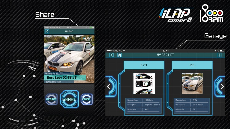 iLapTimer 2:Motorsport GPS Lap Timer & Data Logger screenshot-1