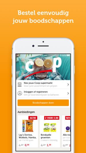 coop supermarkten in de app store. Black Bedroom Furniture Sets. Home Design Ideas