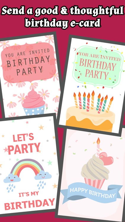 Happy Birthday Cards & Greetings Free screenshot-3
