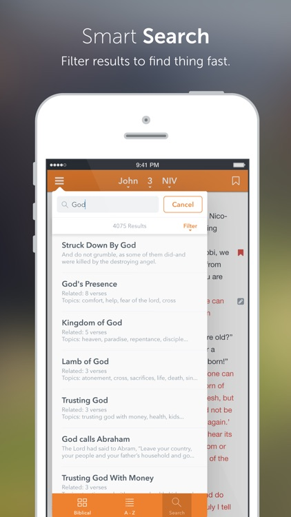 NIV Bible+ screenshot-2