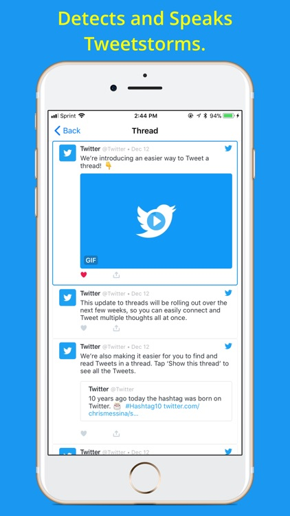 Social Speaker for Twitter screenshot-4