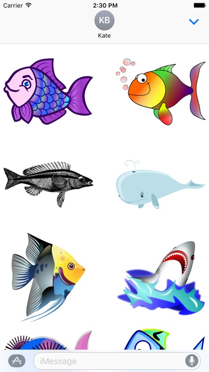 Fish Sticker Pack